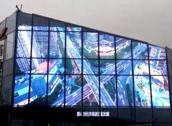 Big Glass LED Application