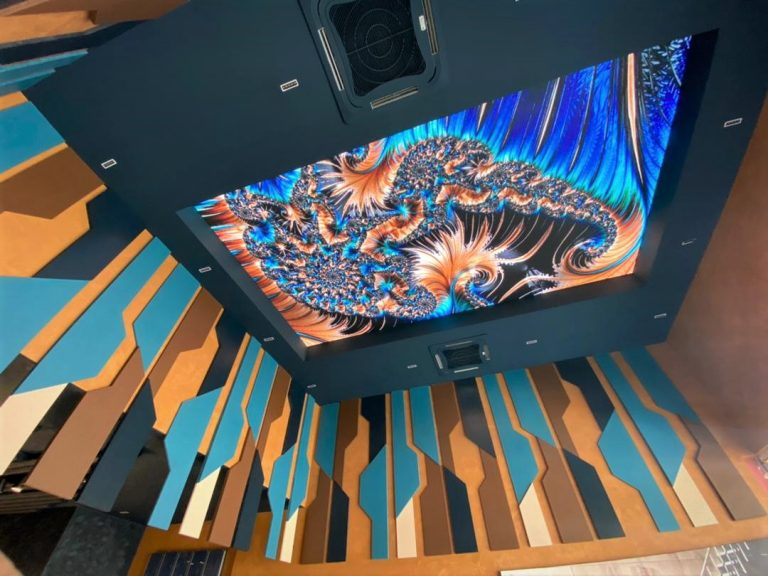 Ceiling LED Screen - Sales Gallery