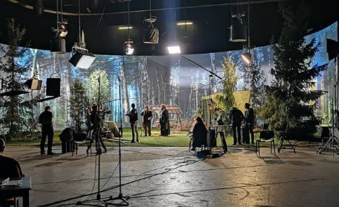 XR LED Wall for Film Production