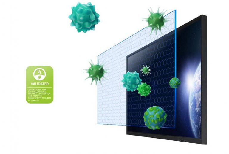 Interactive Smartboard Antimicrobial Coating